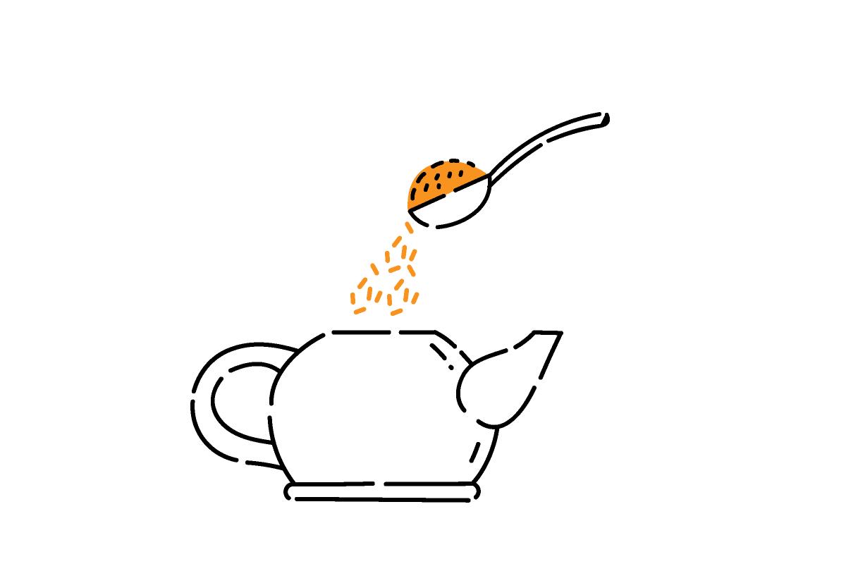 ほうじ茶の淹れ方1