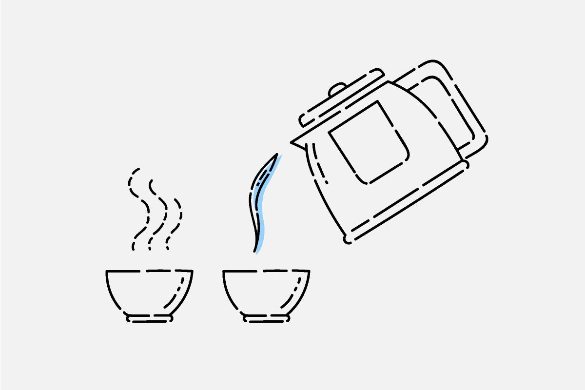 深むし茶の淹れ方1